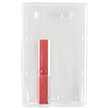 Vertical Plastic Ejector Card Holder
