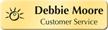 Custom Cymbalic Name Badge with Logo