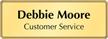 Customizable Executive Name Badge
