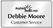 Create Executive Logo Name Badge with Silver Frame