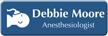 Customizable Anesthesiologist LaserLogo Badge with Symbol