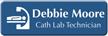 Customizable Cath Lab Technician LaserLogo Badge with Symbol