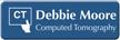 Customizable Computed Tomography Technologist LaserLogo Badge