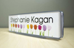 Name Badge Contemporary Sign Kit For Cubicle