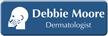 Customizable Dermatologist LaserLogo Name Badge with Dermatology Symbol