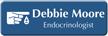 Custom Endocrinologist LaserLogo Name Badge with Endocrinology Symbol