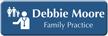 Customizable Family Practice Physician LaserLogo Badge with Symbol