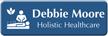 Custom Acupuncturist LaserLogo Badge with Holistic Healthcare Symbol