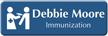 Customizable Immunization Healthcare Specialist LaserLogo Badge