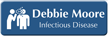 Custom Infectious Diseases Specialist LaserLogo Badge with Symbol