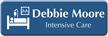 Customizable Intensive Care Specialist LaserLogo Name Badge