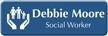 Customizable Social Worker LaserLogo Name Badge with Symbol