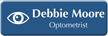 Customizable Optometrist LaserLogo Name Badge with Ophthalmology Symbol