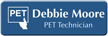 Customizable Positron Emission Tomography Technician LaserLogo Name Badge