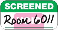 'VOID' Screened Sticker