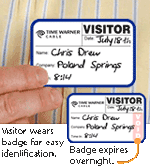 Custom Self-Expiring Badges