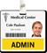 Admin Badge Buddy For Horizontal Id Cards