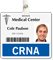 CRNA (Certified Registered Nurse Anesthetist) Badge Buddy